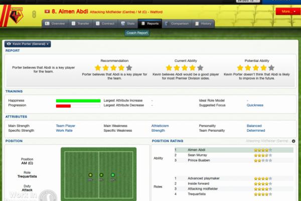 Almen Abdi_ Coach Report